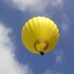 Hot air balloon of Outdoor Amusement Company in Niseko