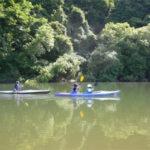 People on kayak in Niseko