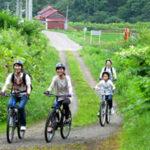 北海道ライオンアドベンチャーのサイクリングツアー参加者