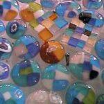 ニセコウルリーで作ったガラス細工