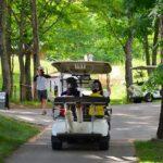 ニセコヴィレッジのゴルフカートツアー