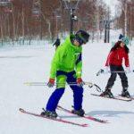 ニセコヴィレッジのスキーレッスン