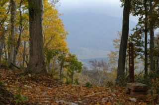 秋のニセコ町宮山