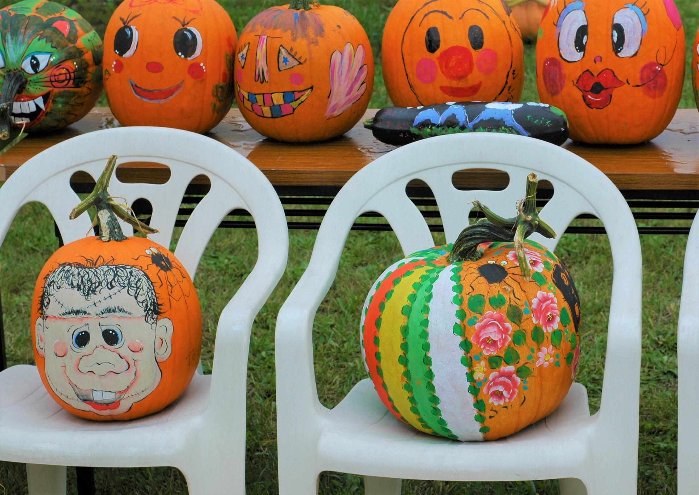 きいろかぼちゃ落書きこんでストの応募作品